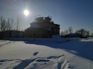 Фото летопись строительства храма - Благовещенское Благочиние Славгородской епархии Алтайской митрополии